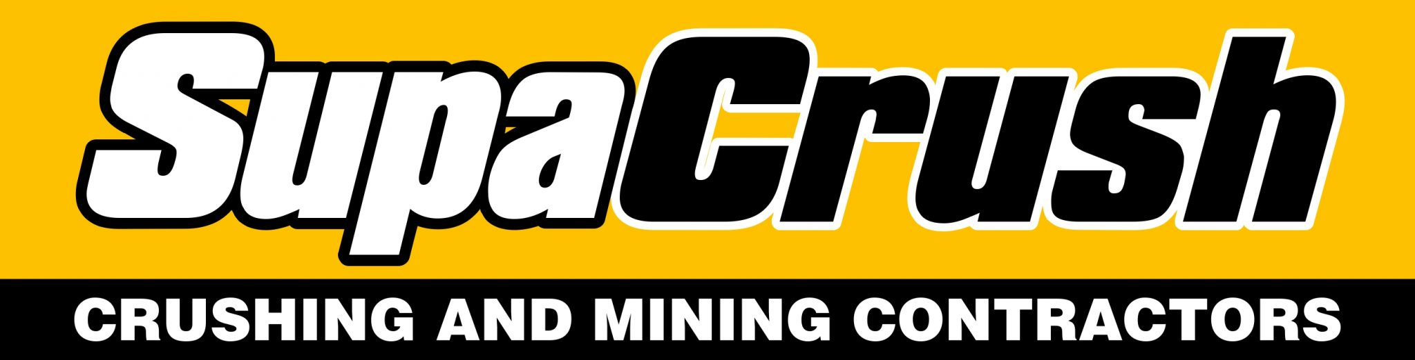 Supacrush Crushing & Mining Contractor Logo - Final